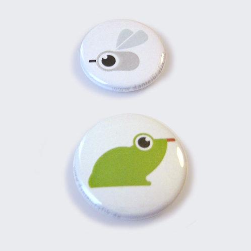 BUTTONS | Genuss-Frosch