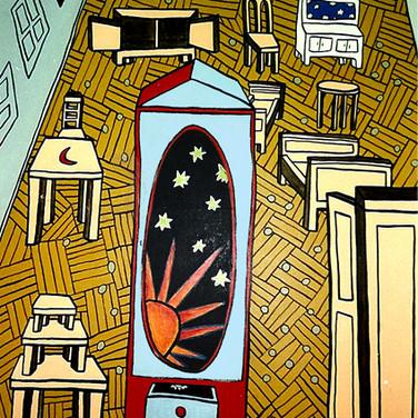 Bez tytułu (Pokój babci) 1990