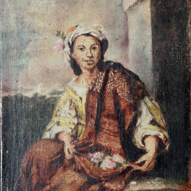 Dziewczyna z kwiatami 1982