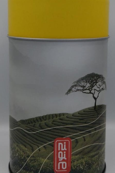 Tea Canister Light Yellow Lid