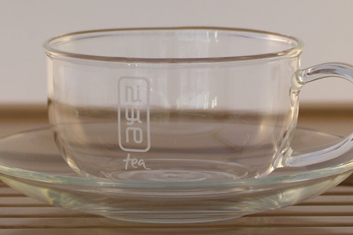 MAMA Mother Glass Cup/ Saucer