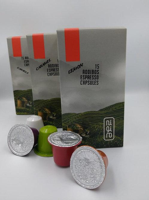 15 x Rooibos Espresso/ Cappuccino (VANILLA)