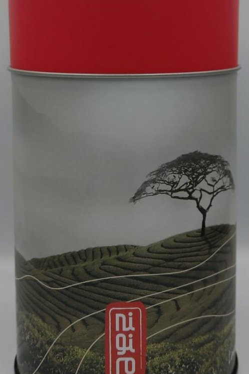 Tea Canister Red Lid