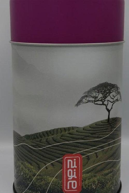 Tea Canister Purple Lid