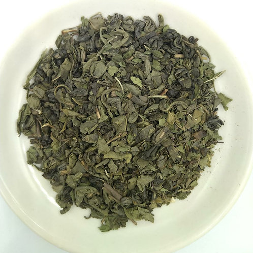 Gunpowder Tea with Mint 100g