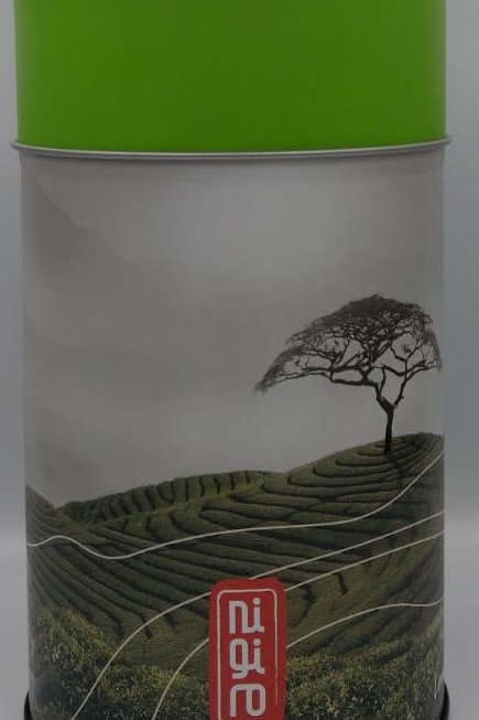 Tea Canister Green Lid