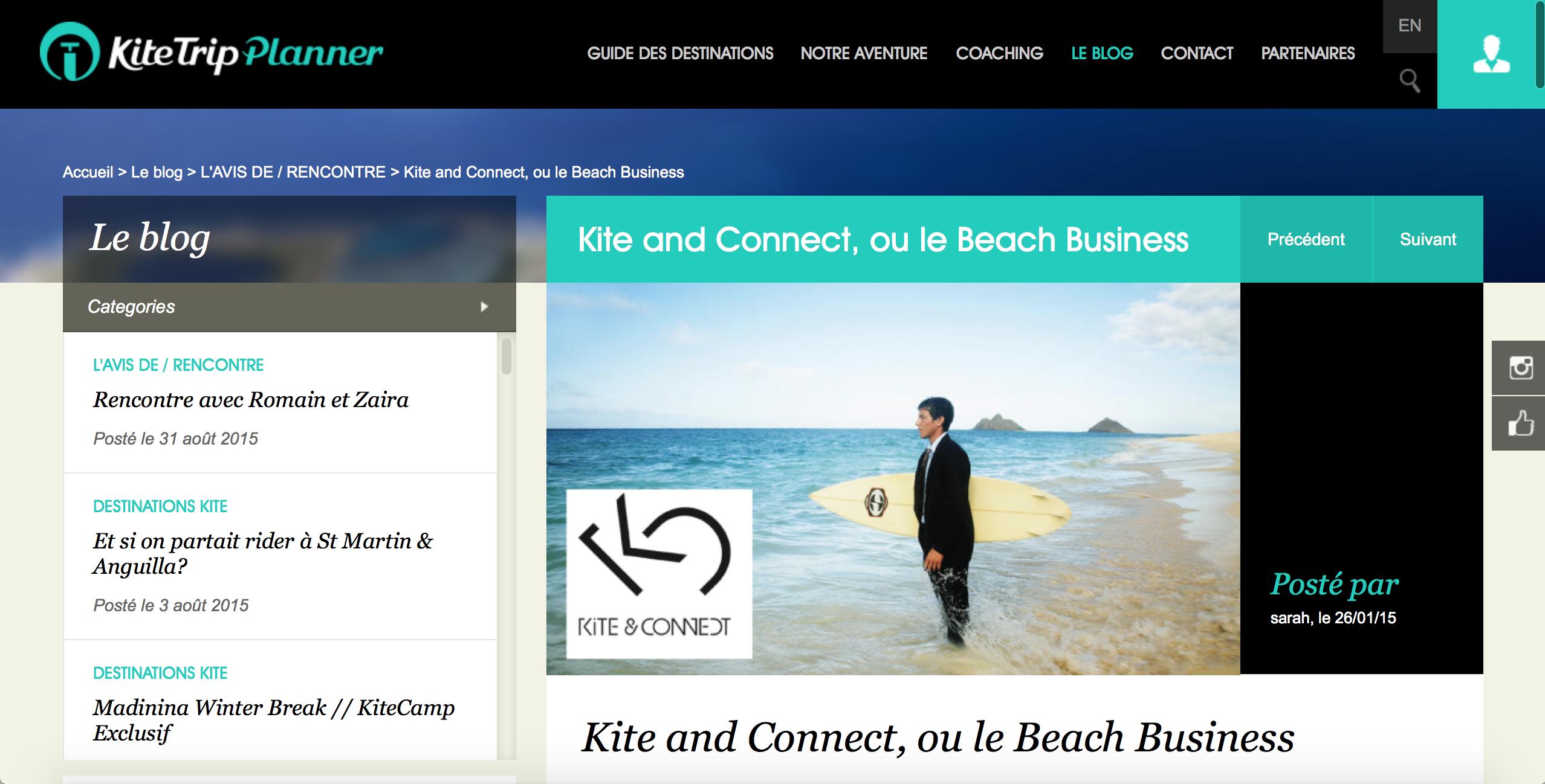 Kite Trip Planner