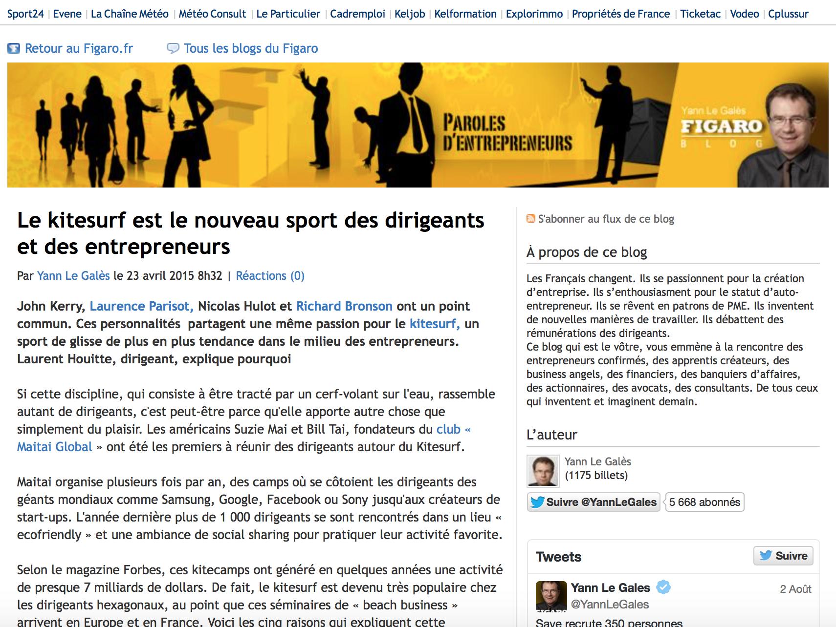 Blog Le Figaro