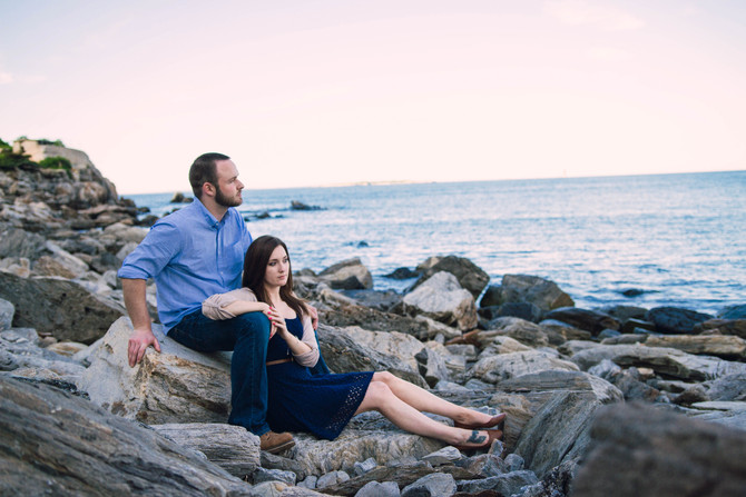 Chris & Mariah's Coastal Maine Engagement