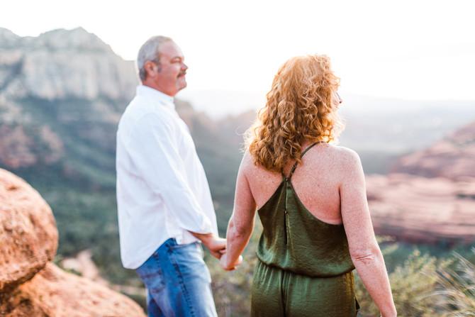 Trisha & John | Sedona Engagement