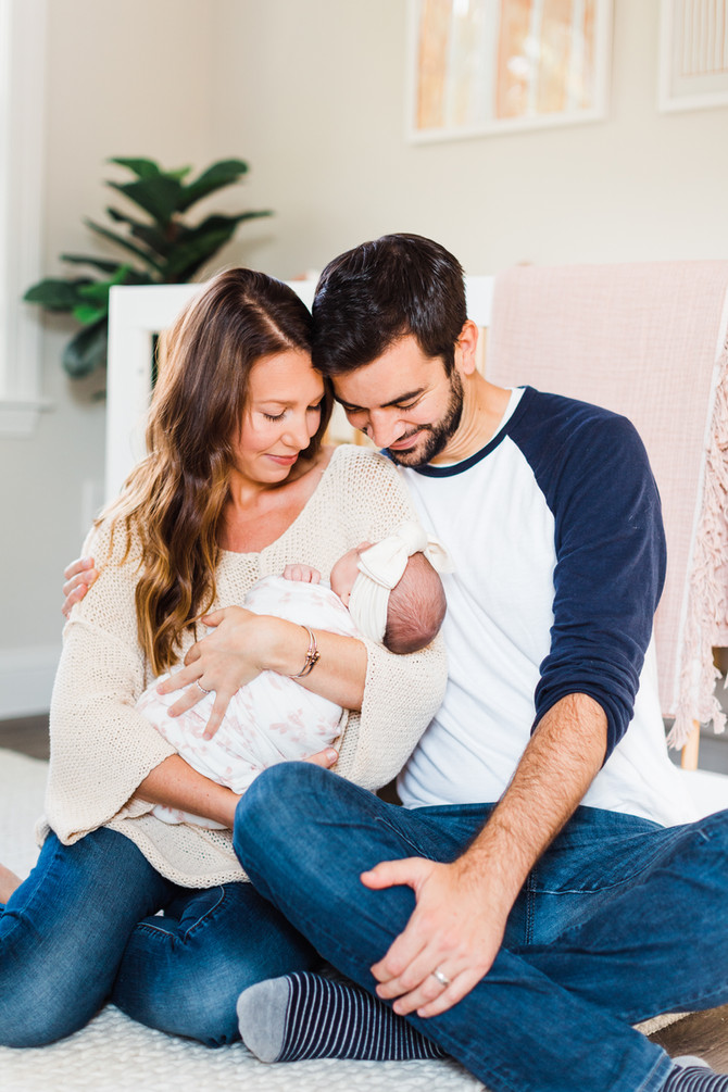 Olivia | Lifestyle At Home Newborn Session