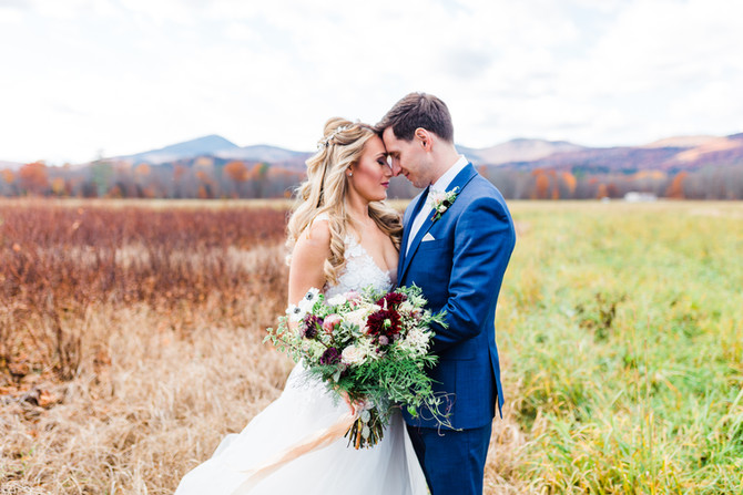 Sara & Ben's Hardy Farm Wedding