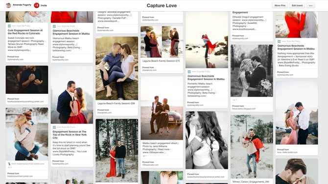 How to use Pinterest for Your Session