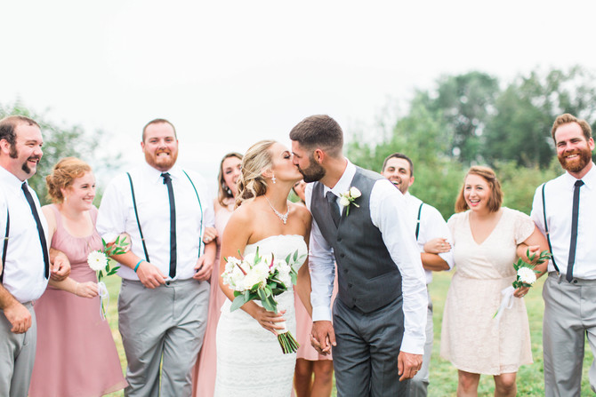 Lindsey & Dave's Wedding at Portside Manor in Searsport