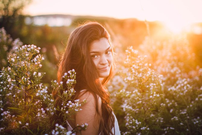 Jami's Sunset Senior Session
