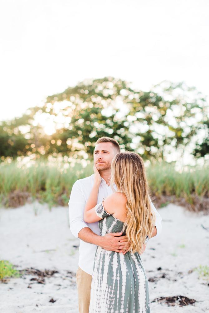 Olivia & Dave | Maine Beach Engagement