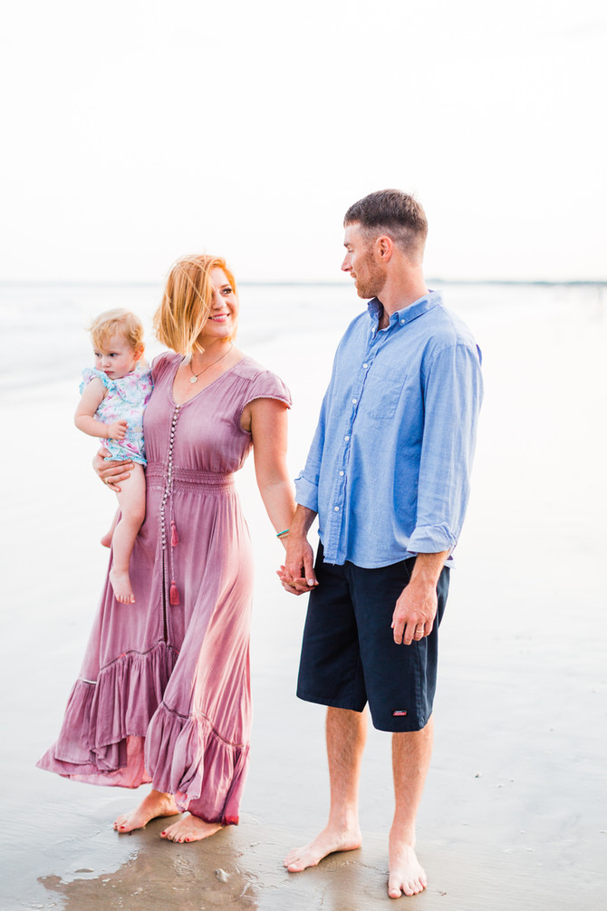 Robert Family | Home & Beach Session