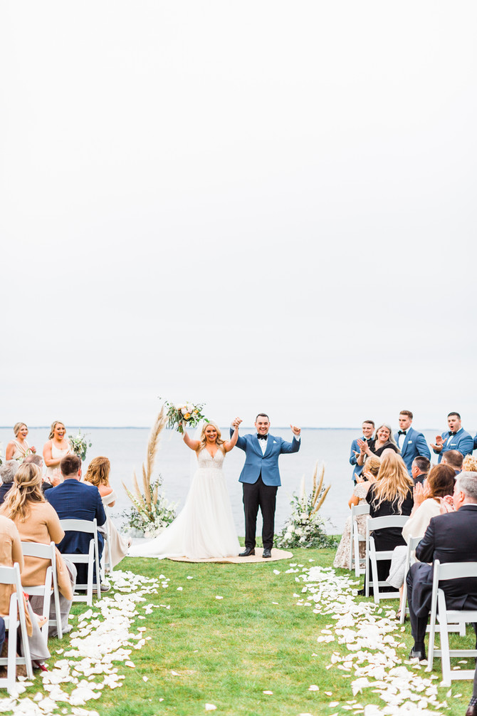 Kayla & Robert   Coastal Cliff House Maine Wedding