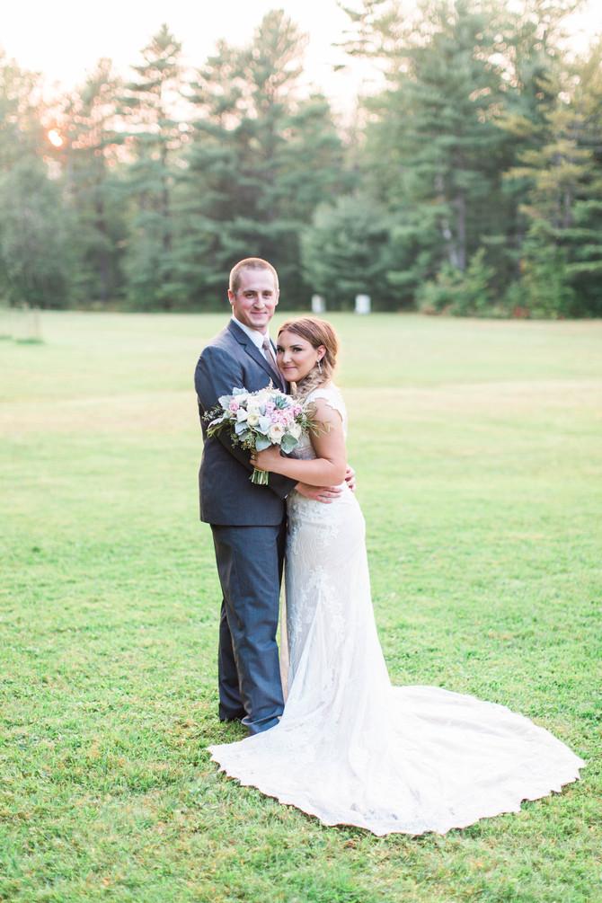 Grace & Nate Wedding at Alden Camps