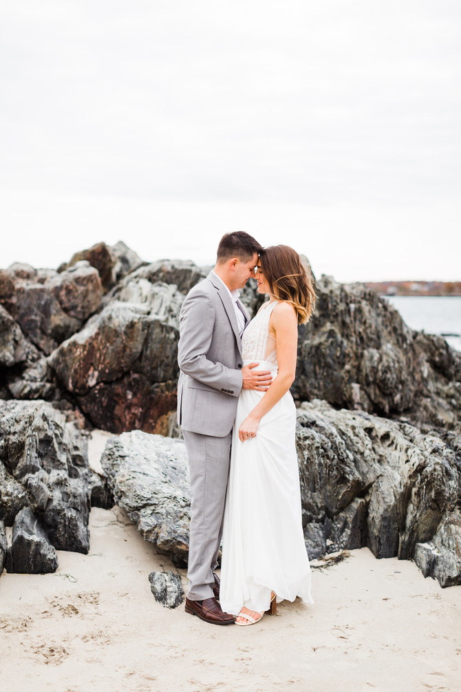 Ally & Parker | Coastal Beach Engagement