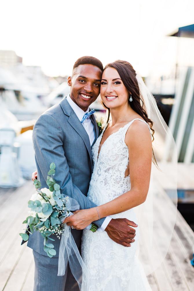 Alexis & Isaiah | Portland, Maine Oceanfront Wedding