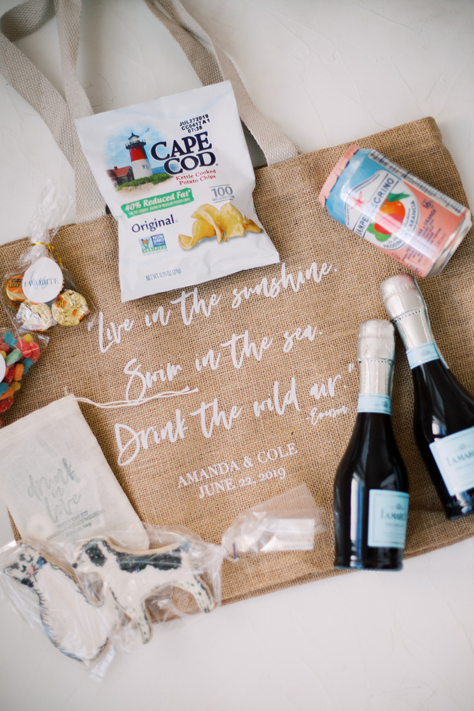 Life With The Libbys | Our Wedding Welcome Bags & Favors