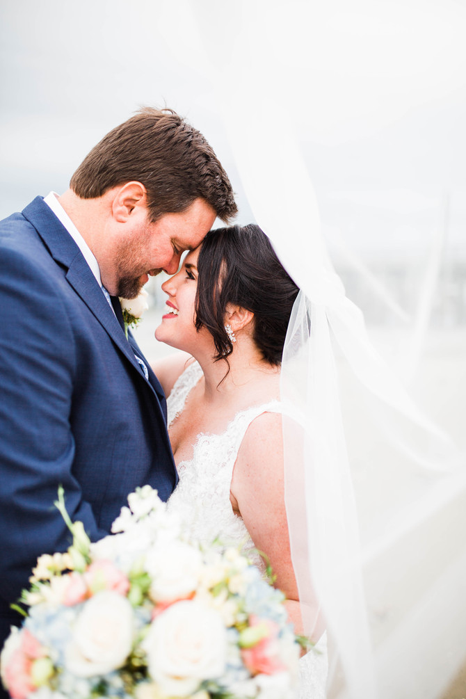Kara & Eric's Coastal Maine Wedding at the Landing in Pine Point