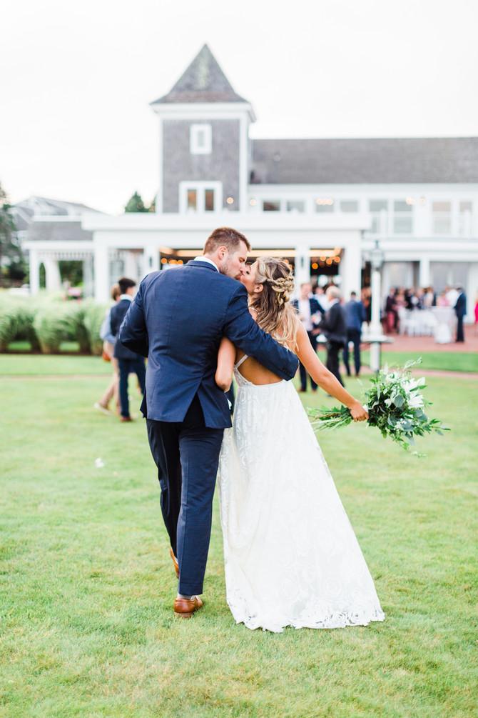 Abby & Matt | Wychmere Beach Club Wedding
