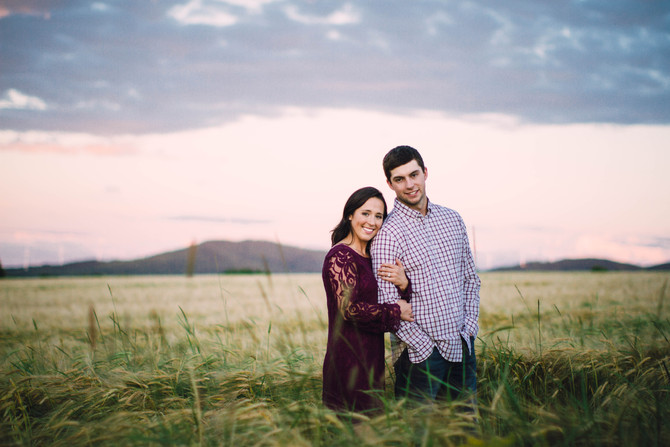 Martha & Logan - Northern Maine Country Engagement