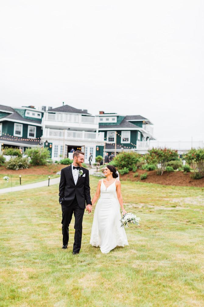 Corinn & Adam   Coastal Maine Wedding at French's Point