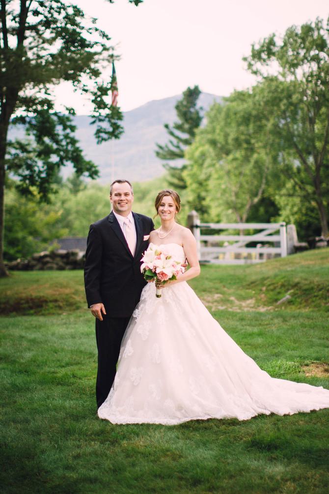 Melinda & Matthew's Elegant New Hampshire Wedding