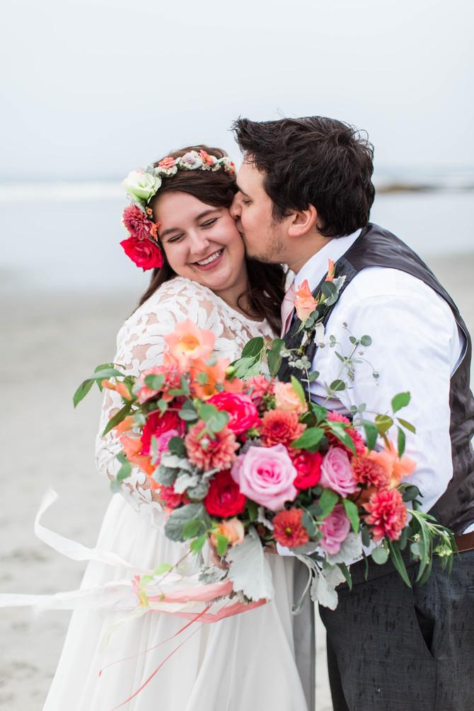 Nicole & Luke | Portland, Maine Wedding
