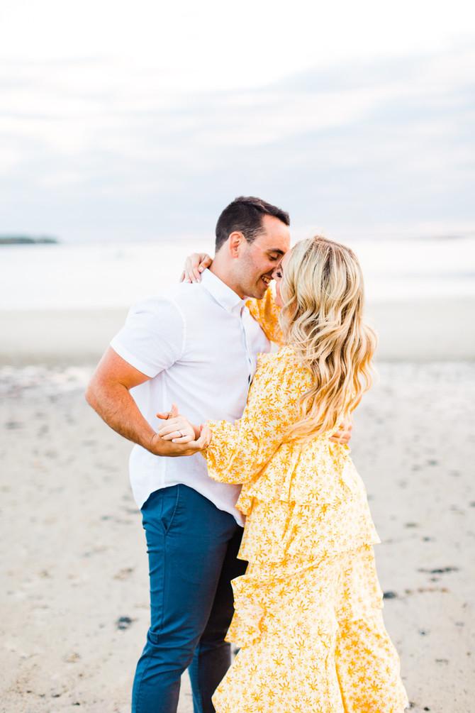 Kayla & Robert | Sunshine Beach Engagement Photography