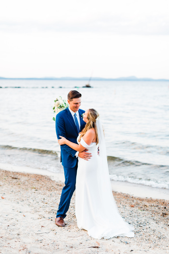 Becky & Will | Sebago Lake Intimate Wedding