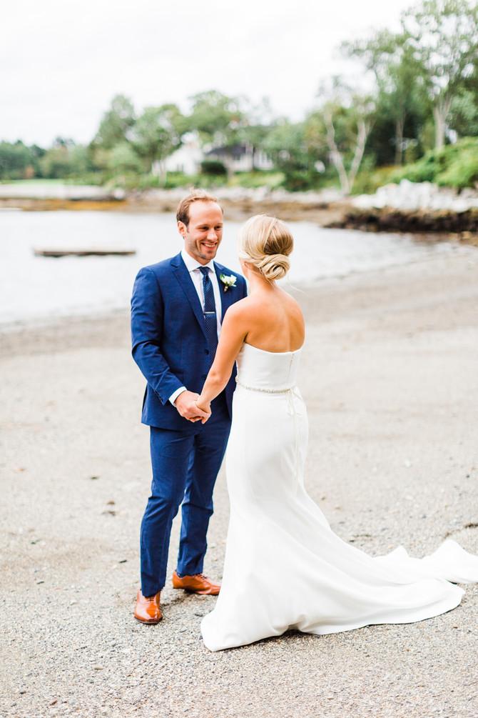 FAQ: Should We Do a First Look? | Maine Wedding Photographer & Videographer