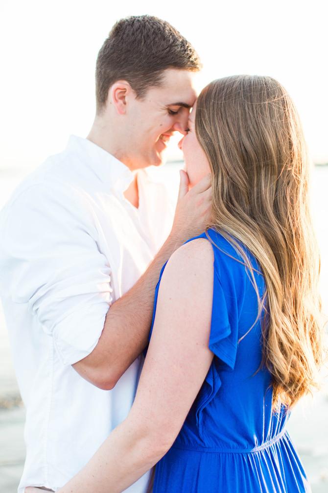 Nick & Abby's Sunset Engagement