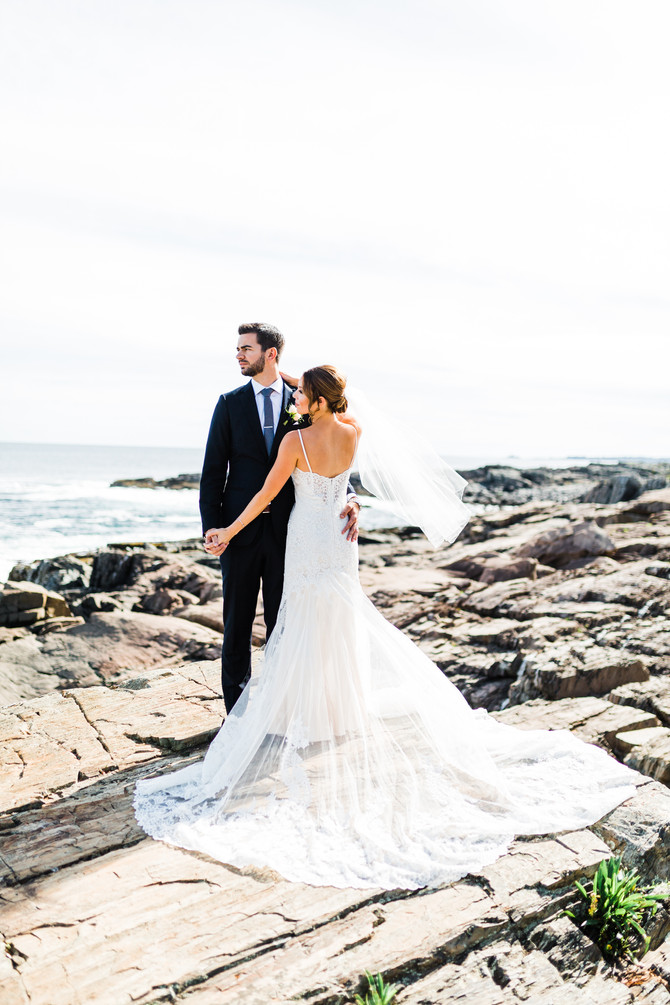 Megan & Chris | Coastal Maine Barn Wedding