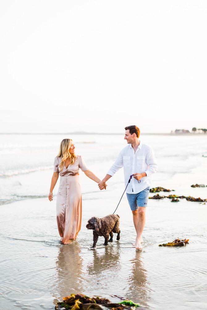 Summer Engagement Inspiration | Maine Wedding & Portrait Photographer