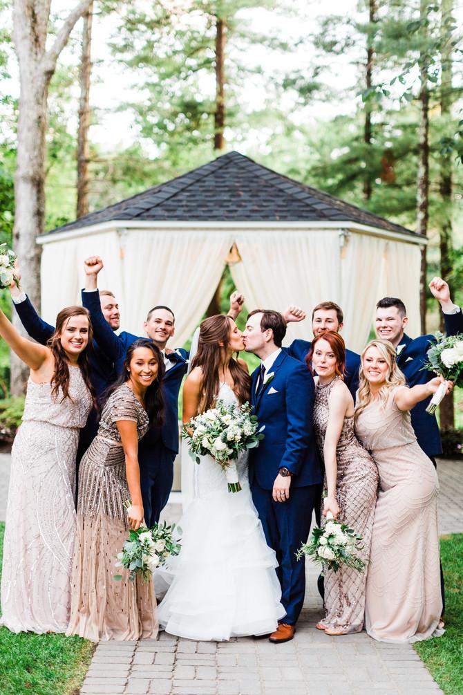 Nicole & Elliott's Lakeview Pavilion Wedding