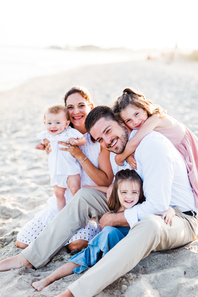 Green Family | Maine Beach Family Session