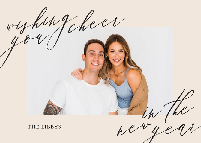 Holiday & New Year Cards with The Libbys