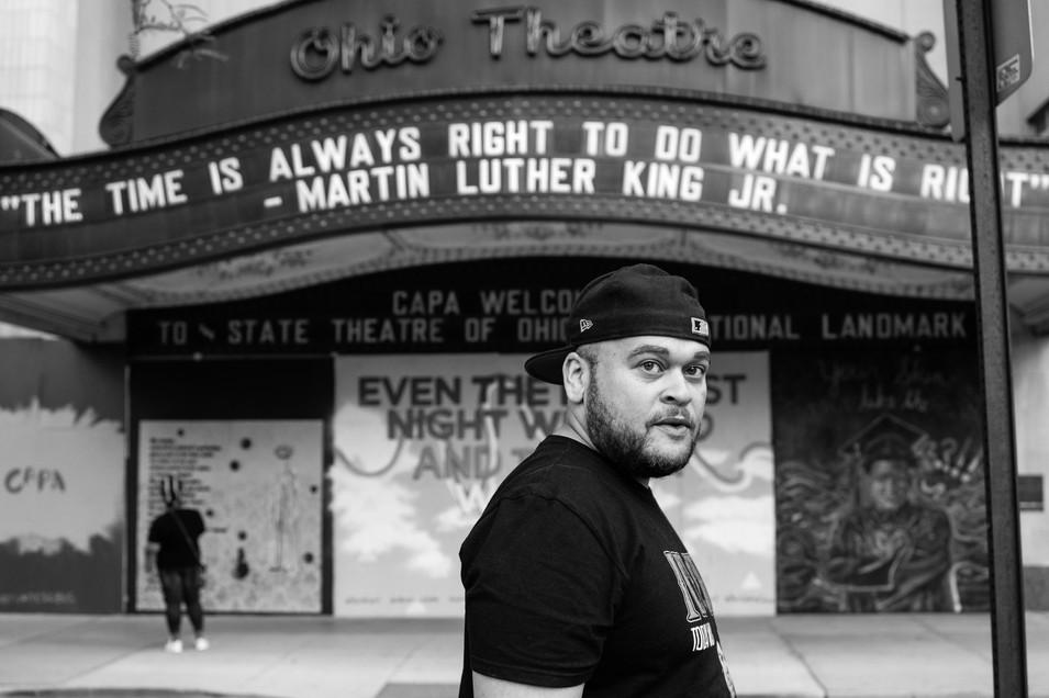 Outside The Ohio Theater, 2020