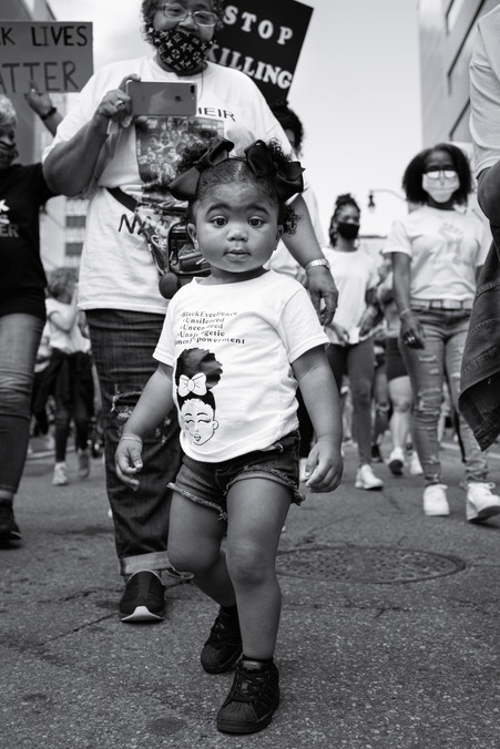 Toddler Marching, 2020