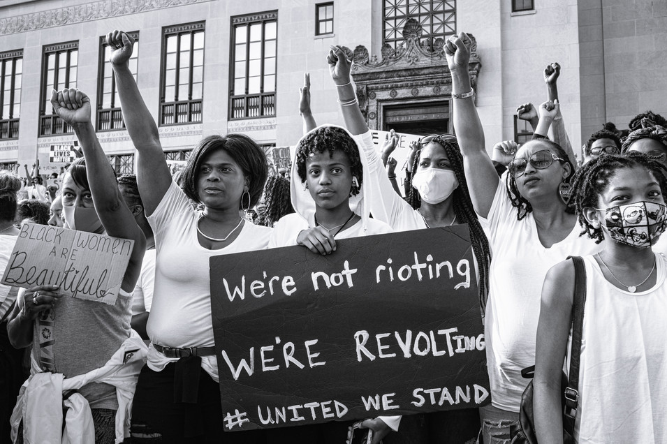 """""""We're Not Rioting We're Revolting,"""" 2020"""