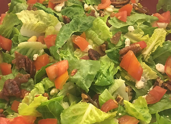 MIXED GREENS WITH BALSAMIC DRESSING