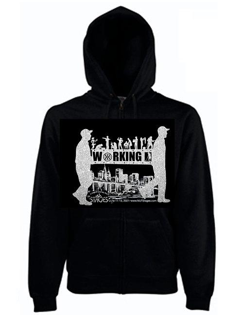 WORKING Pullover Hoodie Sweatshirt