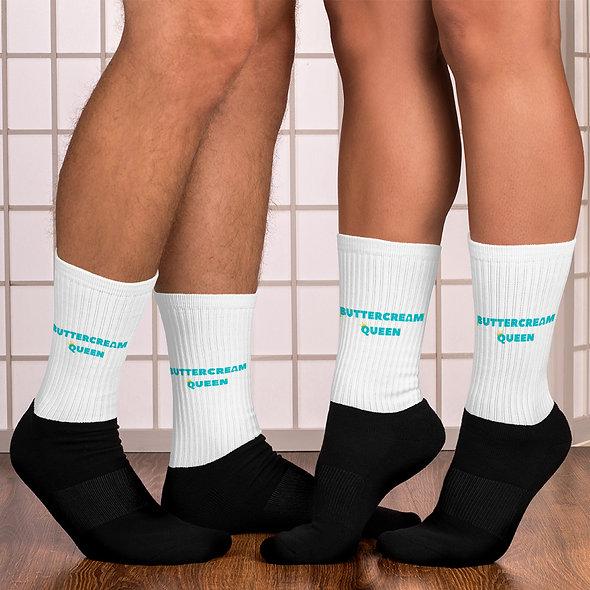 Buttercream Queen Socks