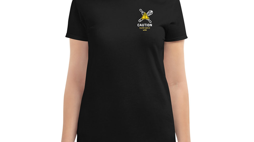 Caution: Pastry Chef at work t-shirt
