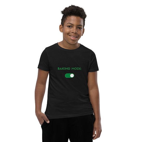 Youth Baking Mode: On T-Shirt
