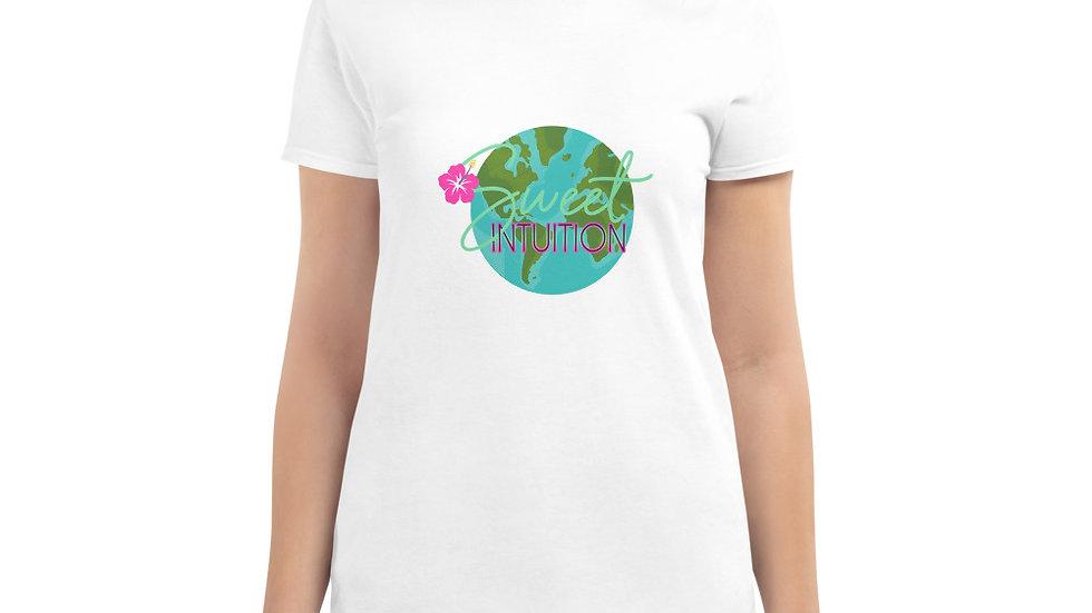 Women's its sweet intuition world vibe short sleeve t-shirt